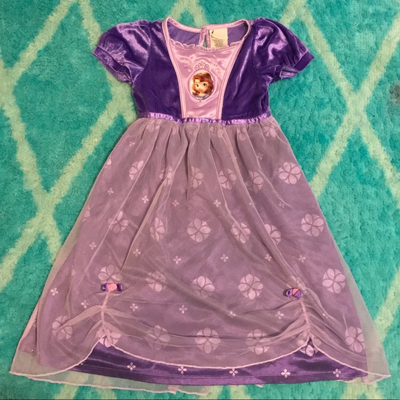 Disney Sofia The First Night Gown | Poshmark